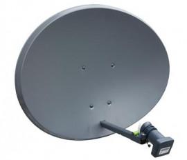 Sky Zone 2 Solid Dish/Quad LNB