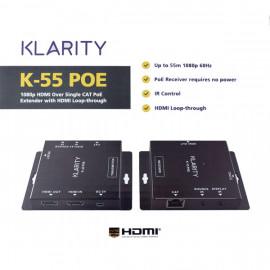 Klarity KL55 HD HDMI PoE Extender